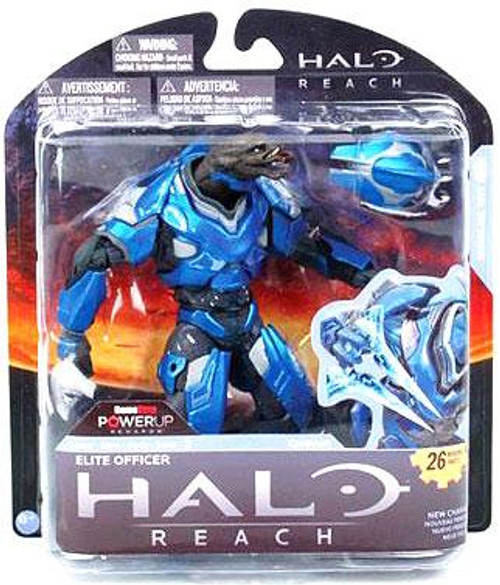 McFarlane Toys Halo Reach Series 2 Elite Officer Exclusive Action Figure [Blue]