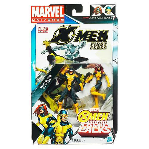 Marvel Universe Marvel's Greatest Battles Comic Packs Cyclops & Marvel Girl Action Figure 2-Pack