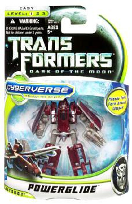 Transformers Dark of the Moon Cyberverse Powerglide Commander Action Figure