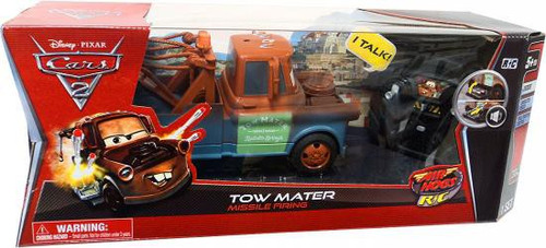 Disney Cars Cars 2 Air Hogs R/C Tow Mater Remote Control Car [Missile Firing]