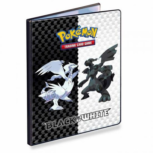 Ultra Pro Pokemon Black & White Reshiram & Zekrom 9-Pocket Binder
