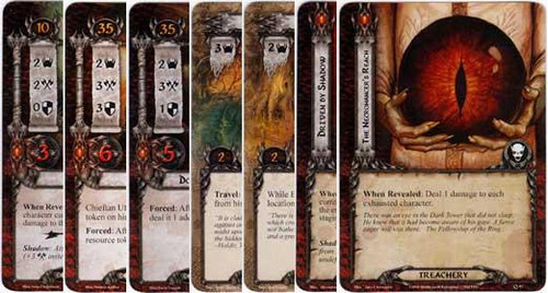 The Lord of the Rings The Card Game Lord of the Rings LCG Orcs of Dol Guldur Encounter Set [14 cards]