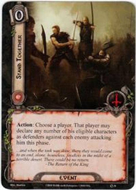 The Lord of the Rings The Card Game Core Set Rare Stand Together #38