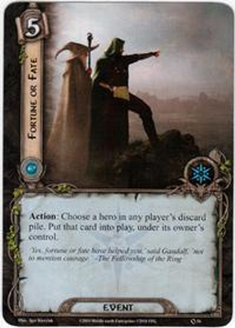 The Lord of the Rings The Card Game Core Set Rare Fortune or Fate #54