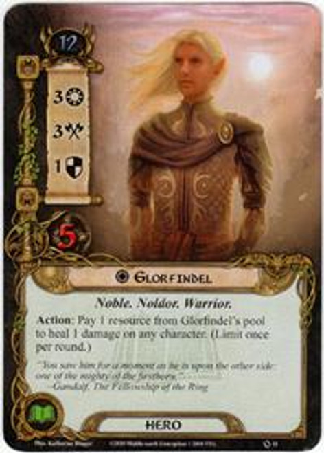 The Lord of the Rings The Card Game Core Set Rare Glorfindel #11
