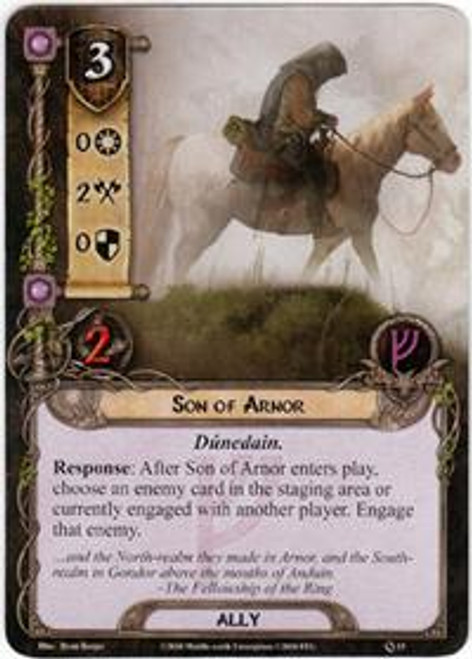 The Lord of the Rings The Card Game Core Set Uncommon Son of Arnor #15