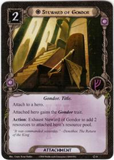 The Lord of the Rings The Card Game Core Set Uncommon Steward of Gondor #26