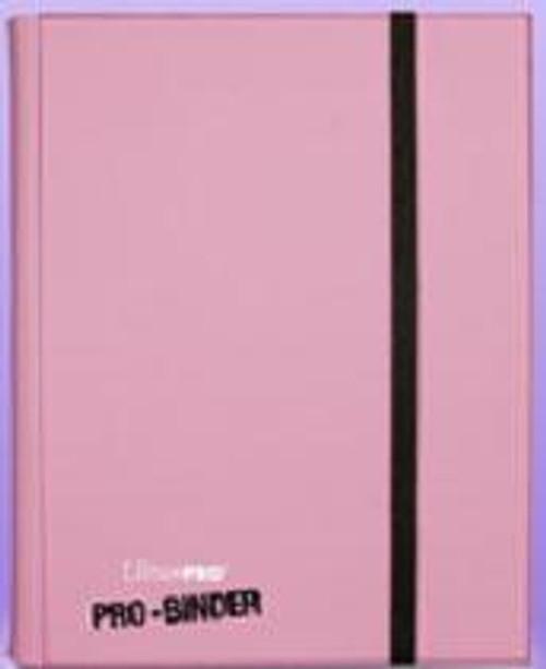 Ultra Pro Card Supplies Pro-Binder Pink 9-Pocket Binder