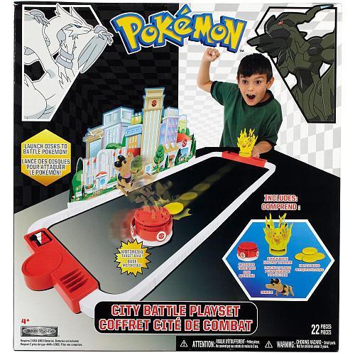Pokemon Black & White City Battle Playset