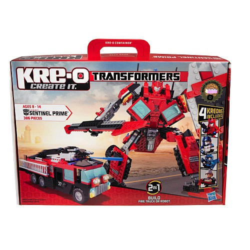 Transformers Kre-O Sentinel Prime Set #30687