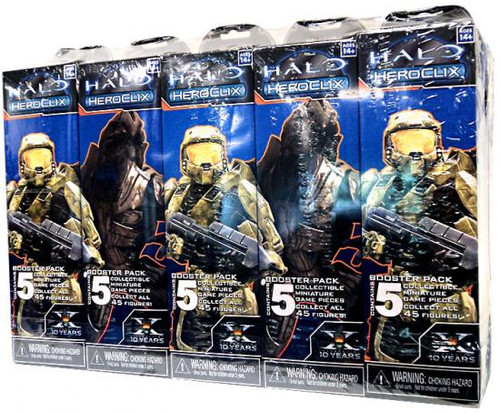 HeroClix Lot of 10 Halo Booster Packs
