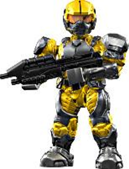 Mega Bloks Halo Loose Marine 2-Inch Minifigure [Yellow with Assault Rifle Loose]