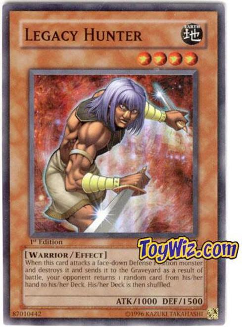 YuGiOh Ancient Sanctuary Super Rare Legacy Hunter AST-067