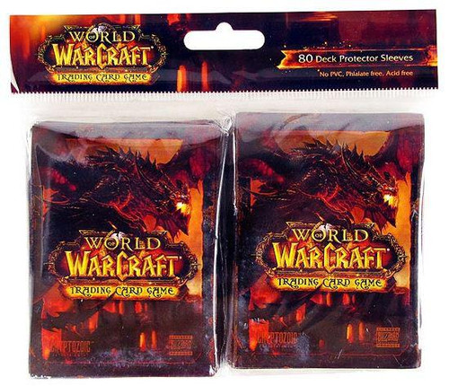 World of Warcraft Cataclysm Card Supplies Deathwing Card Sleeves [80 ct]