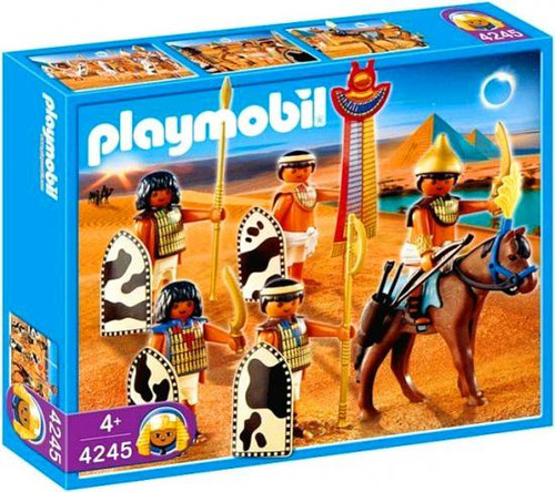 Playmobil Romans & Egyptians Egyptian Soldiers Set #4245