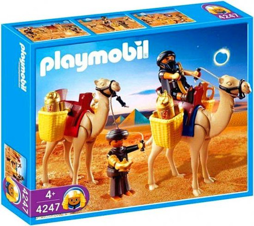 Playmobil Romans & Egyptians Tomb Raiders with Camels Set #4247