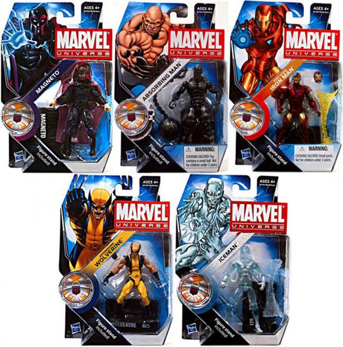 Marvel Universe Series 16 Set of 5 Action Figures