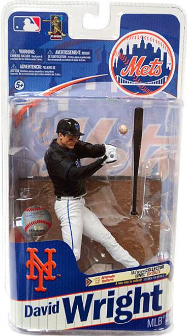 McFarlane Toys MLB New York Mets Sports Picks Series 28 David Wright Action Figure [Black Jersey]