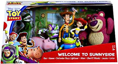 Toy Story Welcome to Sunnyside Exclusive Action Figure Set
