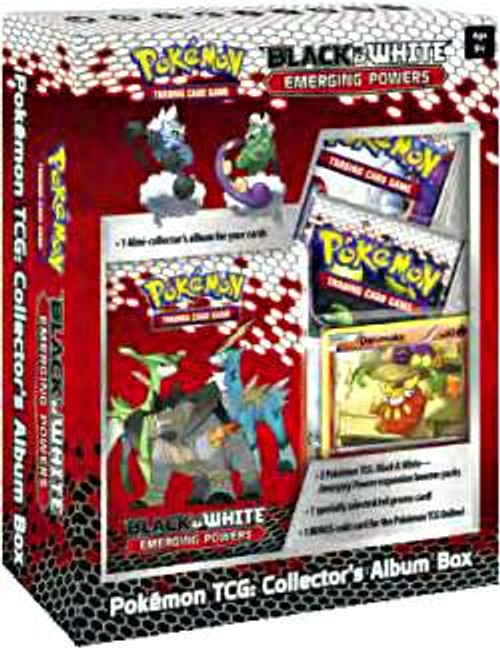 Pokemon Black & White Emerging Powers Mini Collector's Album Box [Sealed]