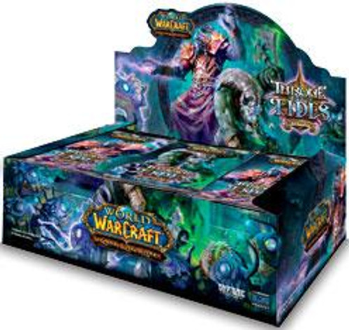 World of Warcraft Trading Card Game Throne of the Tides Booster Box