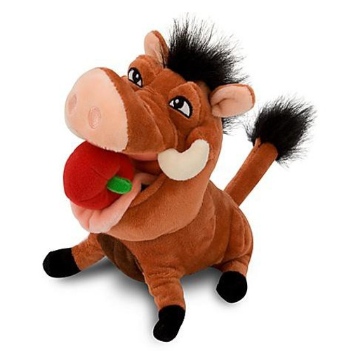 Disney The Lion King Pumba Exclusive 8-Inch Plush [With Apple]