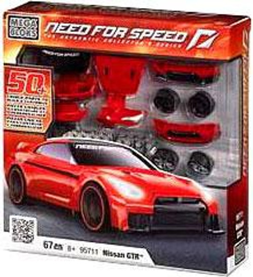 Mega Bloks Need for Speed The Authentic Collector's Series Nissan GTR Set #95711