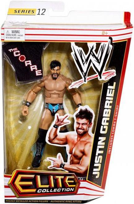 WWE Wrestling Elite Series 12 Justin Gabriel Action Figure