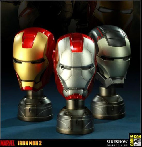 Exclusives Iron Man 2 Helmet Set Exclusive