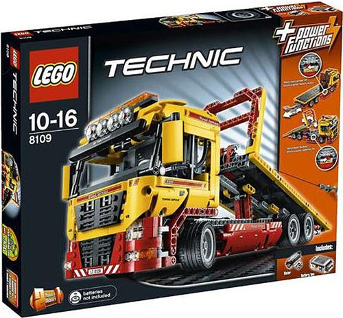 LEGO Technic Power Functions Flatbed Truck Set #8109