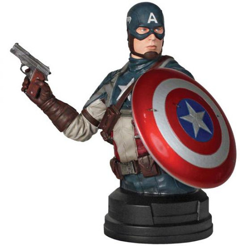 The First Avenger Captain America Movie Captain America Exclusive Bust