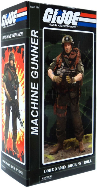 GI Joe Rock N' Roll 1/6 Collectible Figure [Machine Gunner]