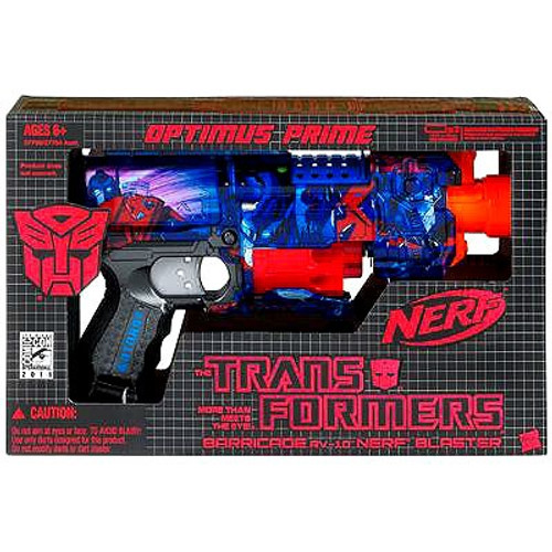 Transformers Universe Nerf Optimus Prime Blaster Exclusive