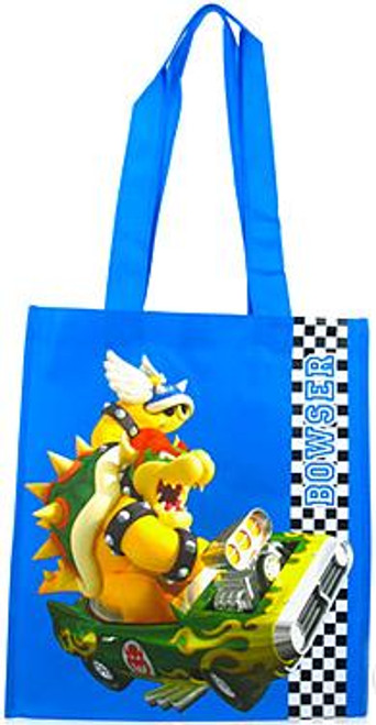 Super Mario Mario Kart Wii Bowser Shopping Bag
