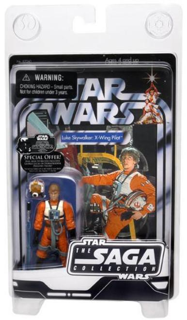 Star Wars A New Hope Saga Collection 2006 Vintage Luke Skywalker Action Figure [X-Wing Pilot]