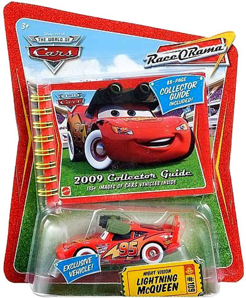 Disney Cars The World of Cars Race-O-Rama Night Vision Lightning McQueen Exclusive Diecast Car #109
