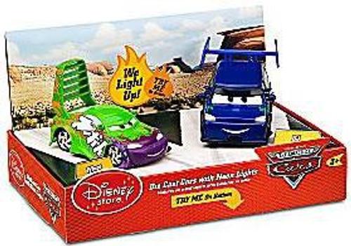 Disney Cars Light Up Wingo & DJ Exclusive Diecast Car 2-Pack