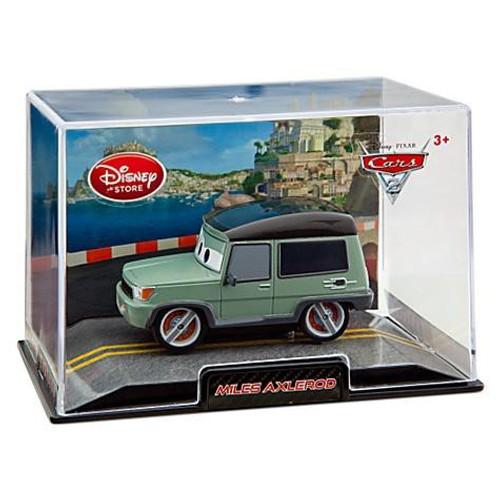 Disney Cars Cars 2 1:43 Collectors Case Miles Axlerod Exclusive Diecast Car