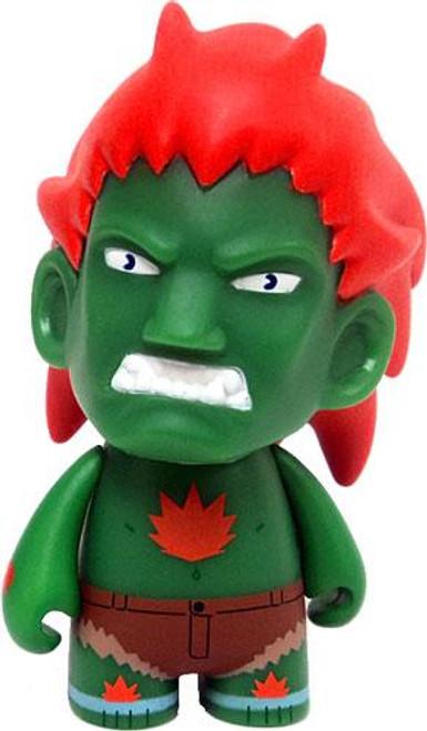 Street Fighter Blanka 3-Inch Vinyl Figure [Green]