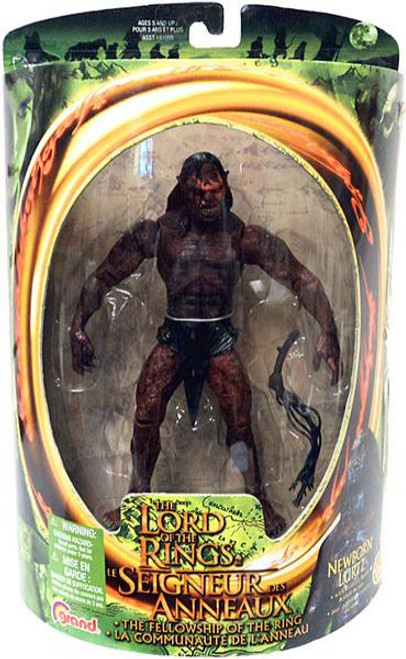 The Lord of the Rings The Fellowship of the Ring Lurtz Action Figure [Newborn]