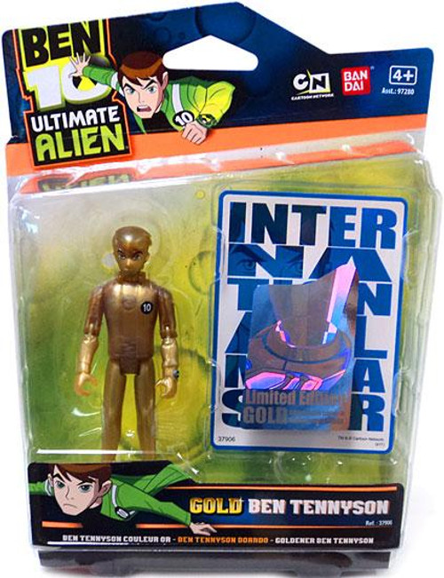 Ben 10 Ultimate Alien Limited Edition Gold Ben Tennyson Action Figure [Gold]