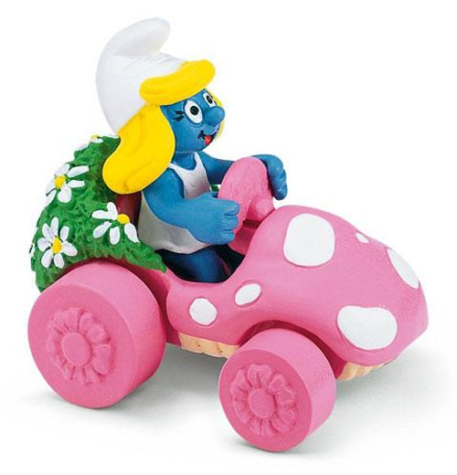 The Smurfs Smurfette Mini Figure [In Car]