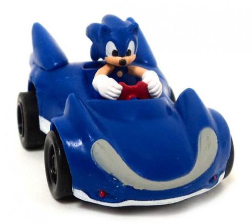 Sonic The Hedgehog Gacha Pullback Racers Sonic Mini Figure