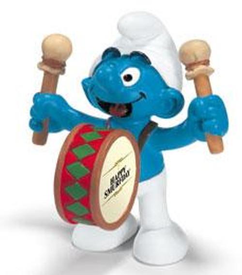 The Smurfs Drummer Smurf Mini Figure