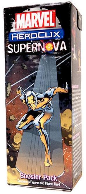 Marvel HeroClix Supernova Booster Pack