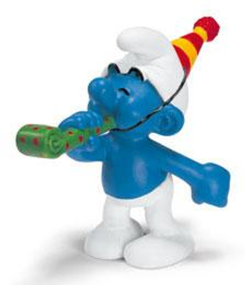 The Smurfs Party Smurf Mini Figure