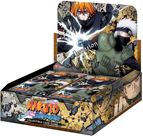 Naruto Shippuden Card Game Invasion Booster Box
