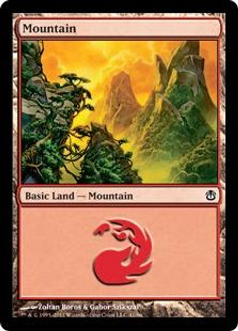 MtG Duel Decks: Ajani vs. Nicol Bolas Land Mountain #41