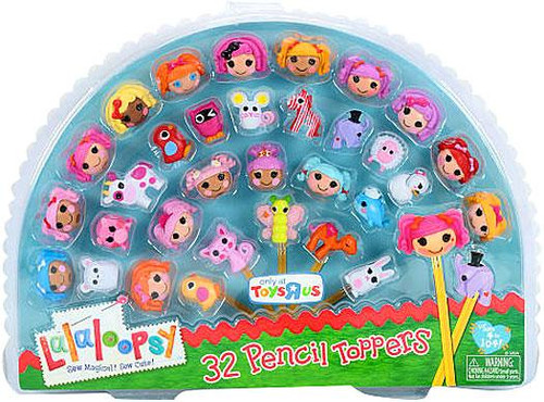 Lalaloopsy 32 Pencil Toppers Exclusive