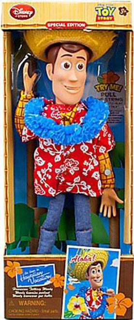 Disney Toy Story Woody Exclusive 16-Inch Doll [Hawaiian Vacation Talking]